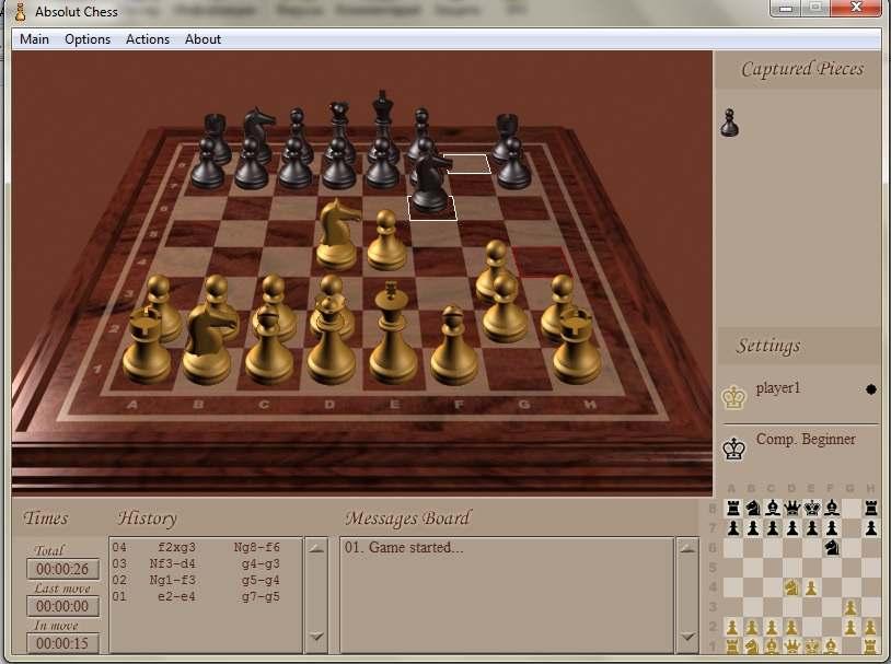 Игра шахматы 3D скачать бесплатно
