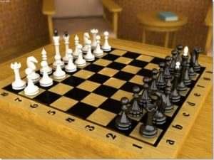 Расположение шахматных фигур