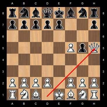 шахматы мат в 3 хода