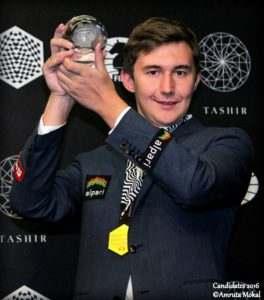 Сергей Карякин выиграл турнир Претендентов