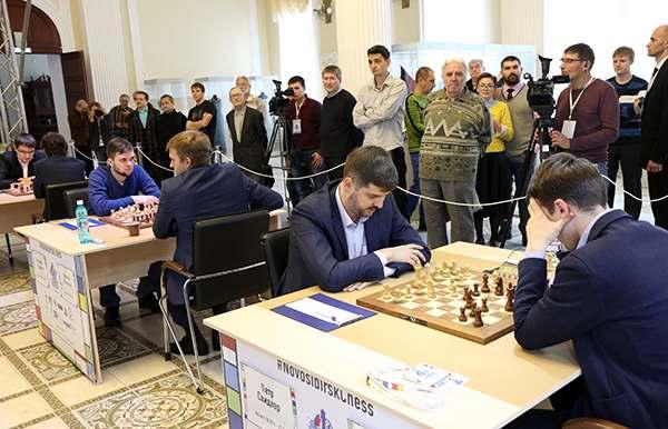Чемпионат России по шахматам в Новосибирске
