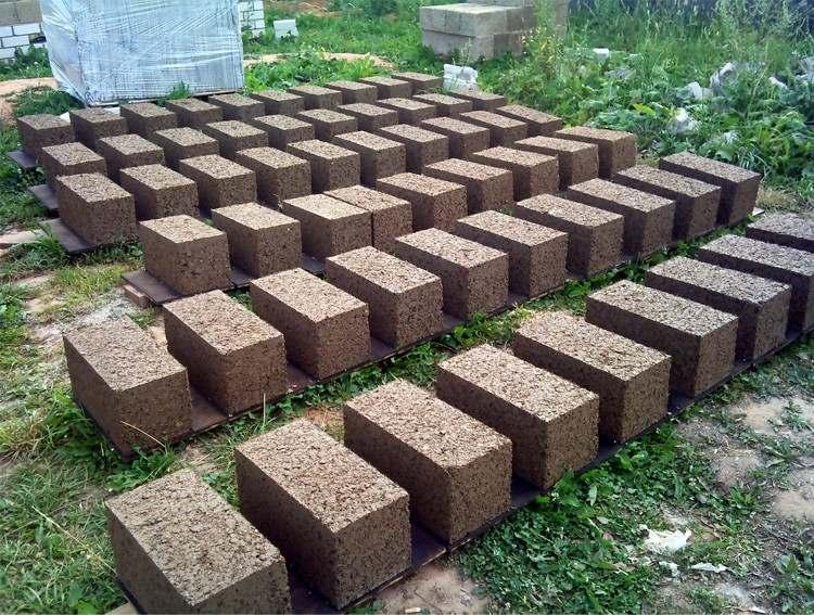 Производство стеновых блоков из опилкобетона