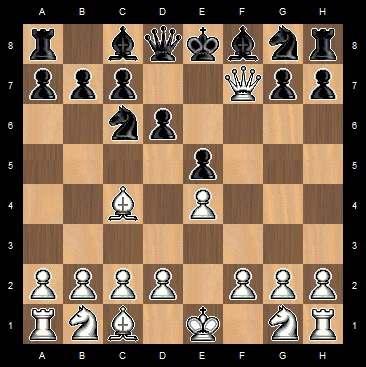 как поставить детский мат в шахматах