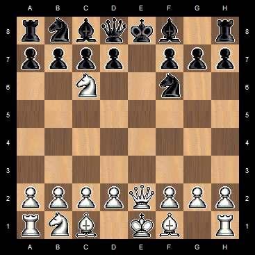 открытый шах