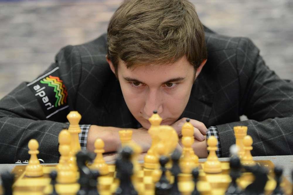 Сергей Карякин шахматист