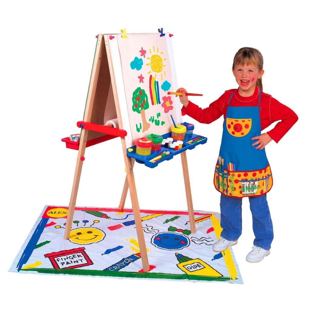 Выбираем краску для рисования ребенку
