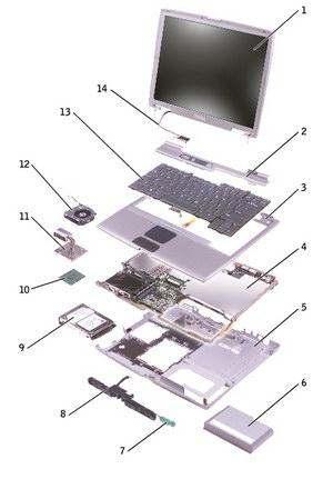 Комплектующее ноутбука
