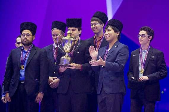 Всемирная шахматная олимпиада в Баку 2016