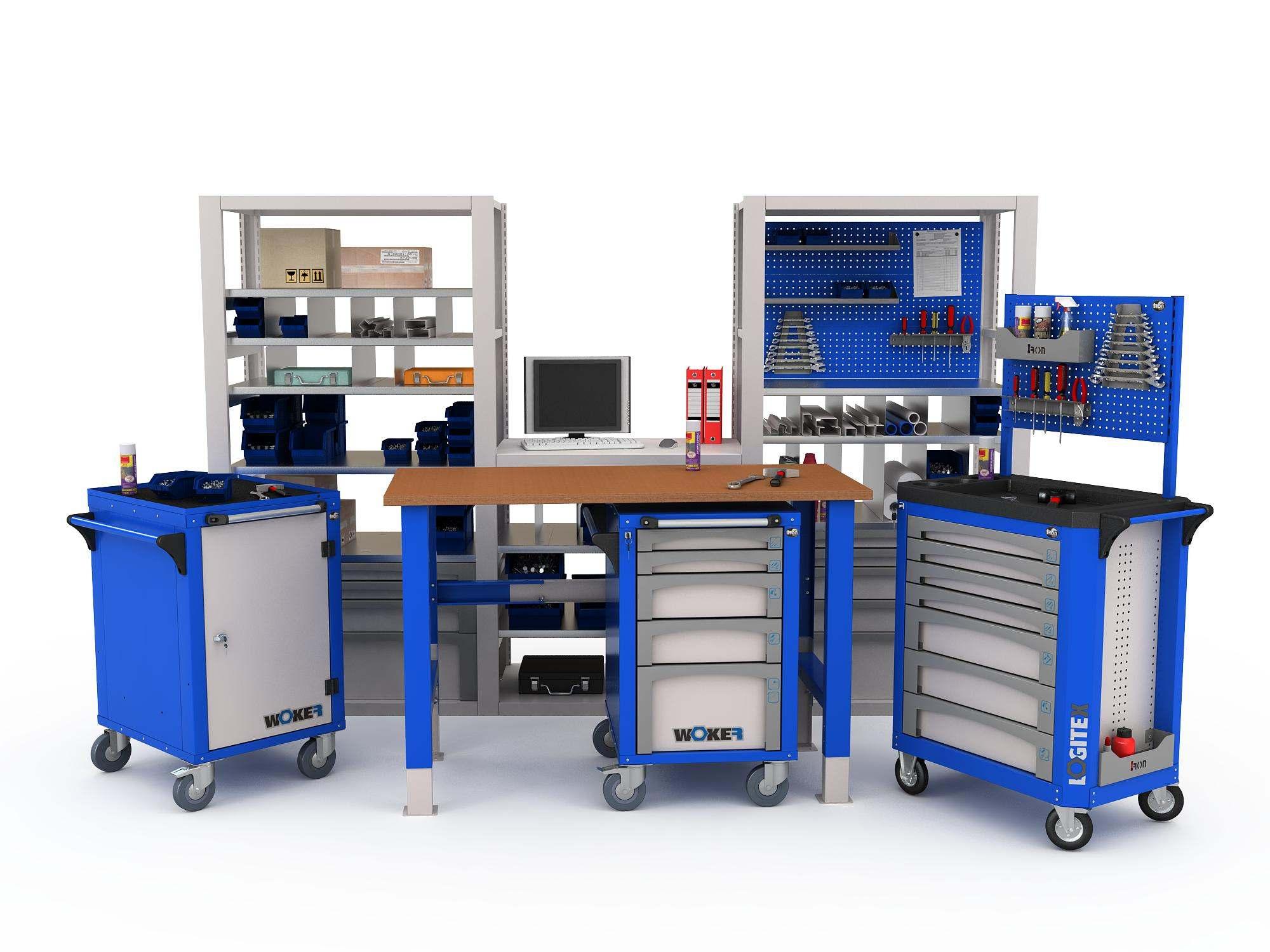 Изготовление металлической мебели
