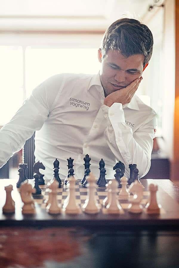 Магнус Карлсен шахматы
