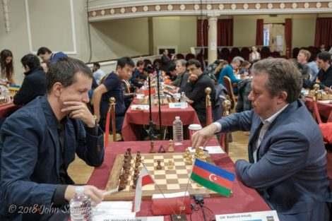 Международный турнир 2018 по шахматам на Острове Мэн